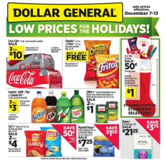 Dollar General Ad 12-7
