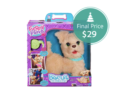 save 51 on furreal friends biscuit my walkin pup toy at. Black Bedroom Furniture Sets. Home Design Ideas