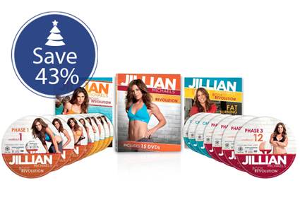 Save 43% on Jillian Michaels Body Revolution!