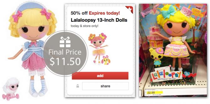 Lalaloopsy Target