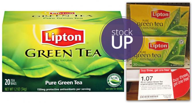 Lipton Green Tea Target