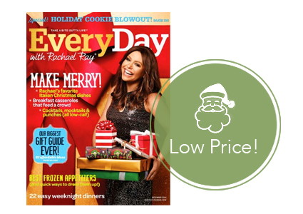 Hot Gift Idea! Every Day with Rachael Ray Magazine, Only $4.99 per Year!