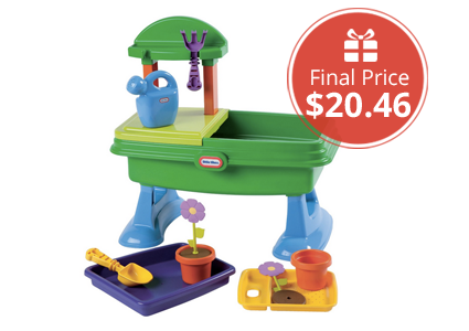Save 49% on Little Tikes Garden Table, as Low as $20.46 Shipped!