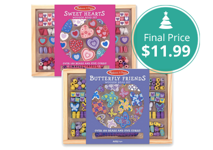 2-Pack of Melissa & Doug Bead Set Bundle, as Low as $11.99 Shipped!