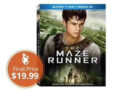 Low Price–Save 50% on Maze Runner Blu-ray!