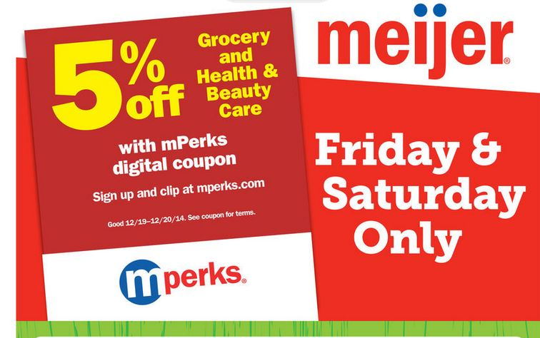 meijer 2 day sale ad