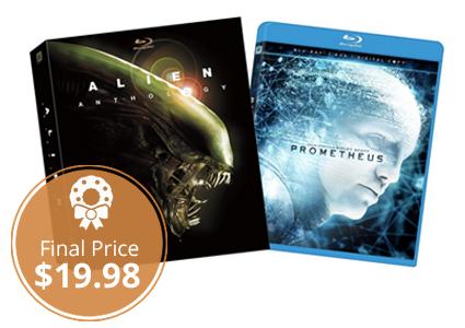 Save 78% on Alien Anthology and Prometheus Bundle Blu-ray!