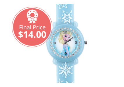 Today Only–Save 46% on Disney Frozen Kids' Light-Up Musical Watch!