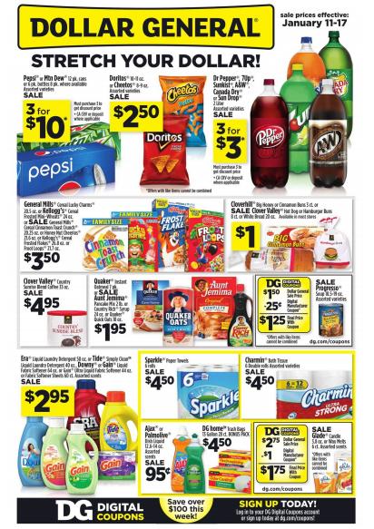 Dollar general coupon deals this week