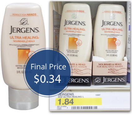 Jergens Lotion Target Jergens Lotion For $1.84