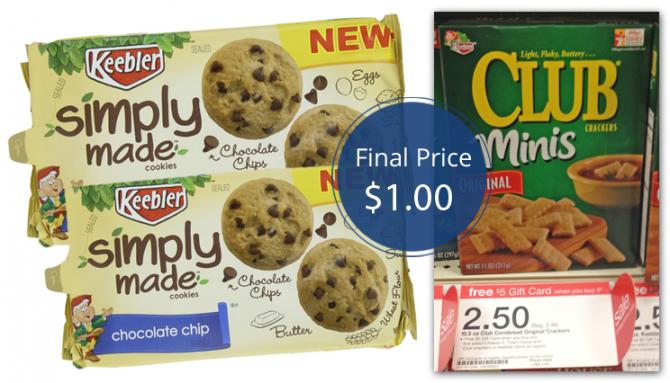 Keebler Cookies and Crackers Target