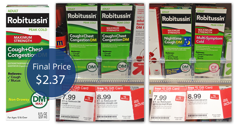 Robitussin Target