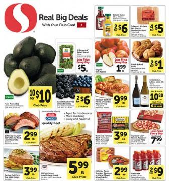 Safeway ad 1.28 coupon