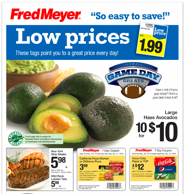 Fred Meyer Ad