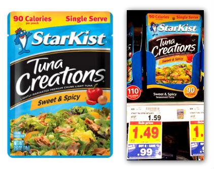 Starkist Tuna Creations Pouch