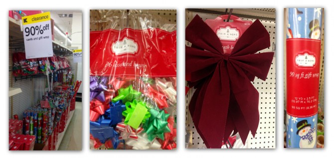 Holiday wrap and decorations 90 off at kmart the krazy coupon
