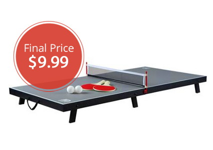Deluxe Table Tennis, Only $9.99–Hurry!