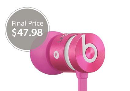 Beat urBeats In-Ear Pink Headphones, Under $48 Shipped!
