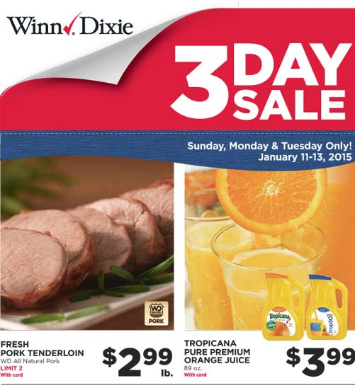 winndixie3daysale