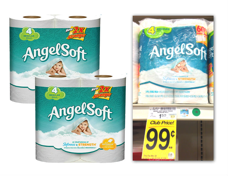Angel Soft Bath Tissue Coupon