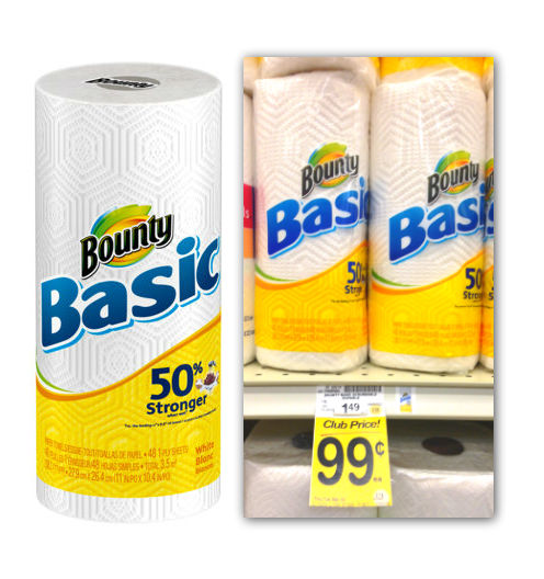Bounty Paper Towels Safeway Coupon