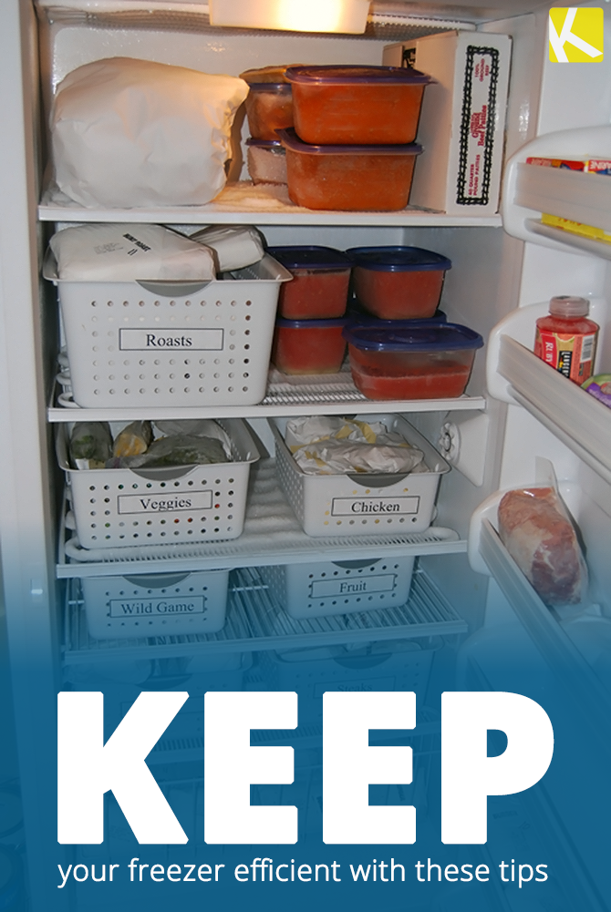 Learn to Love Opening Your Freezer with These Organizing Tips