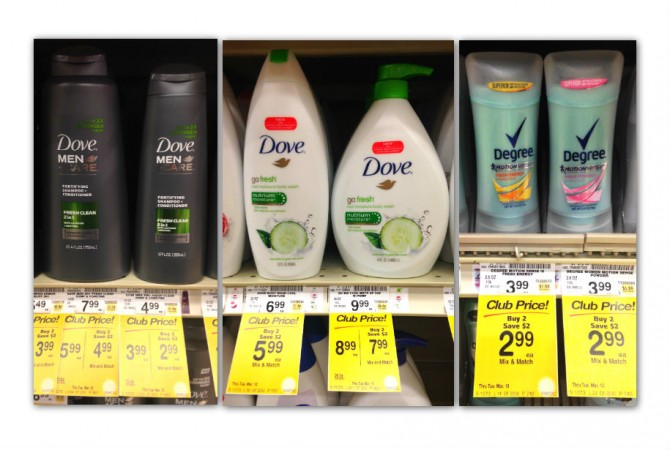 Hair and Body Care Sale Coupon