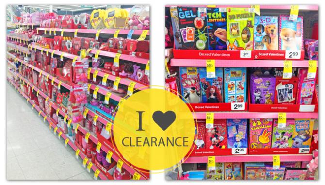 Walgreens Valentine Clearance