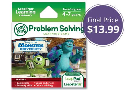 Save 44% on LeapFrog Monsters University Learning Game!