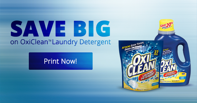 Why I Choose OxiClean Laundry Detergent!