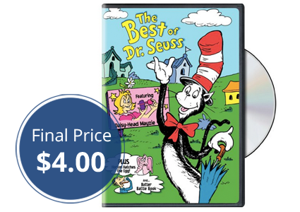 The Best of Dr. Seuss DVD, as Low as $4.00 Shipped!