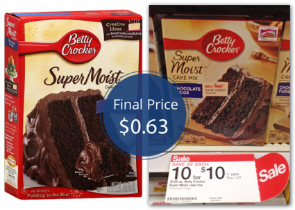 Betty Crocker Cake Mix Target