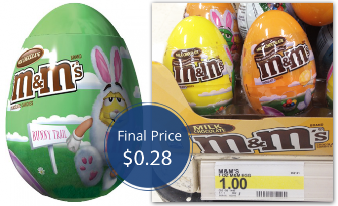 M&M's Easter Eggs Target