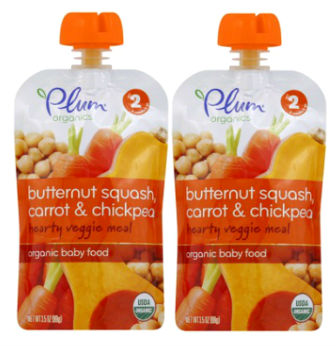 Plum Organics Baby Food Pouches