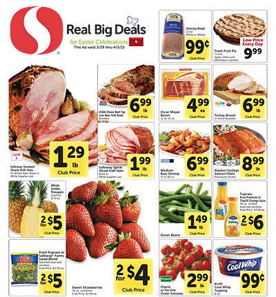 Safeway ad 3.29 Coupon