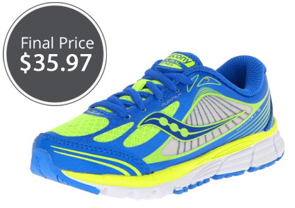 Save 40% on Saucony Running Shoes for the Family!