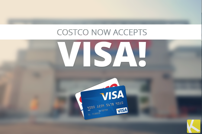 does costco accept visa and mastercard
