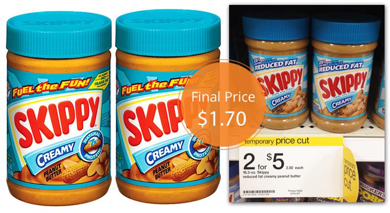 Skippy Peanut Butter Target