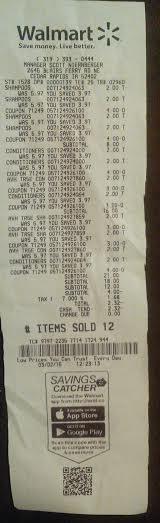 WM receipt 030215