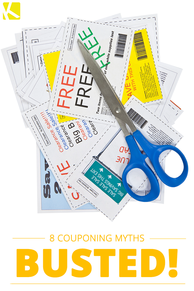 8 Couponing Myths That Are Absolutely Not True