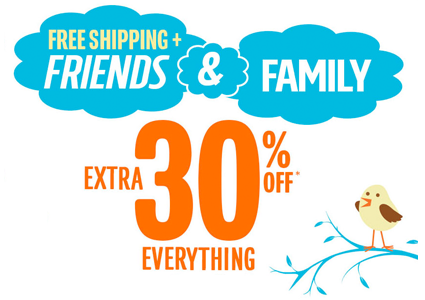 The Children's Place–Free Shipping Today Only + Extra 30%!