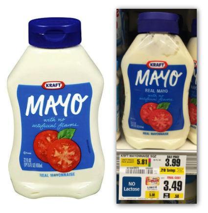 kraft mayo shoprite