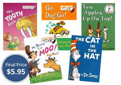 Still Available–Dr. Seuss Birthday Freebie + 5 Books, Just $1.19 Each!