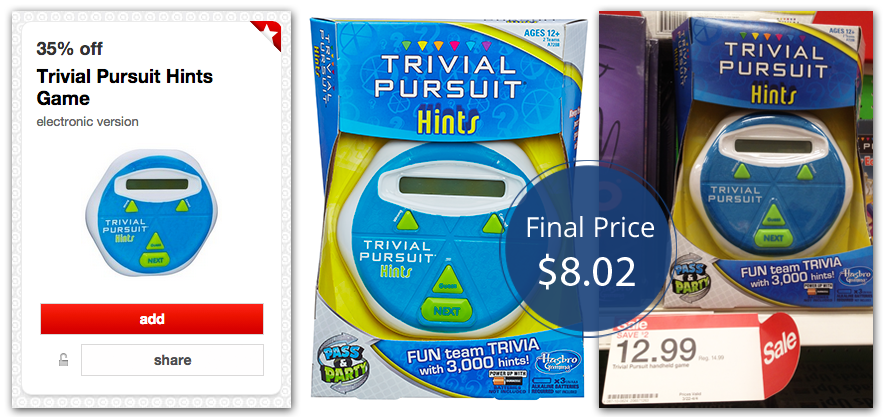 trivial pursuit target
