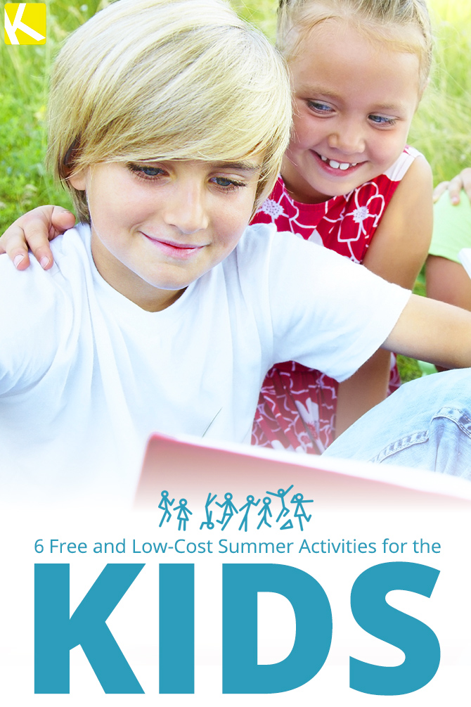 6 Free and Low-Cost Summer Activities for the Kids