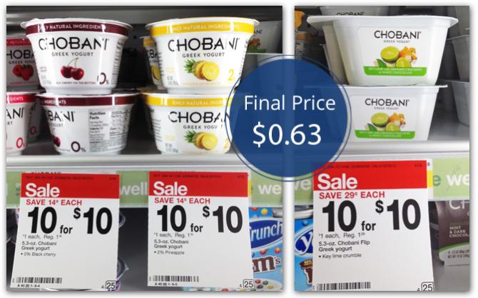 Chobani Yogurt Target