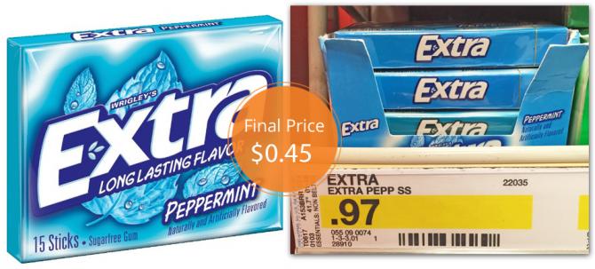 Extra Gum Target