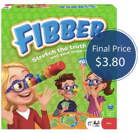 Fibber Game Target
