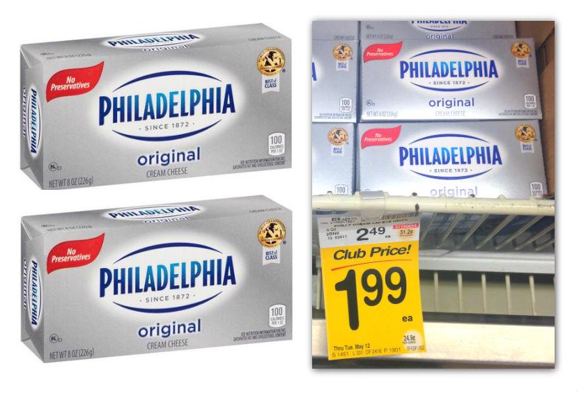 Kraft philly cream cheese coupons