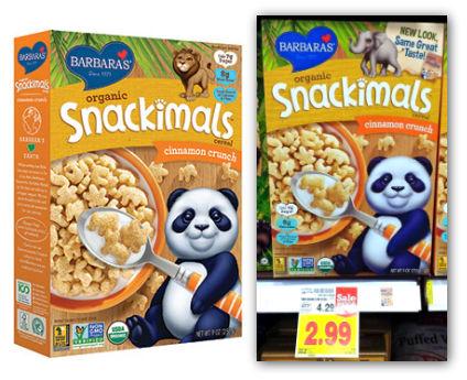 Snackimals Cereal
